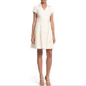 Diane Von Furstenburg Sz 8 Kaley 2 Wrap Dress